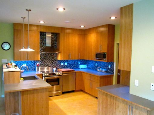 Custom Made Custom Bamboo Plywood Kitchen