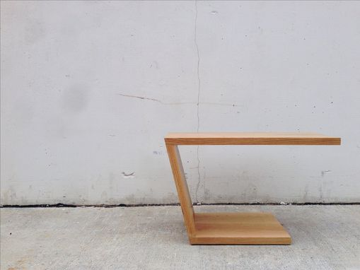 Custom Made Cantilevered Side Table