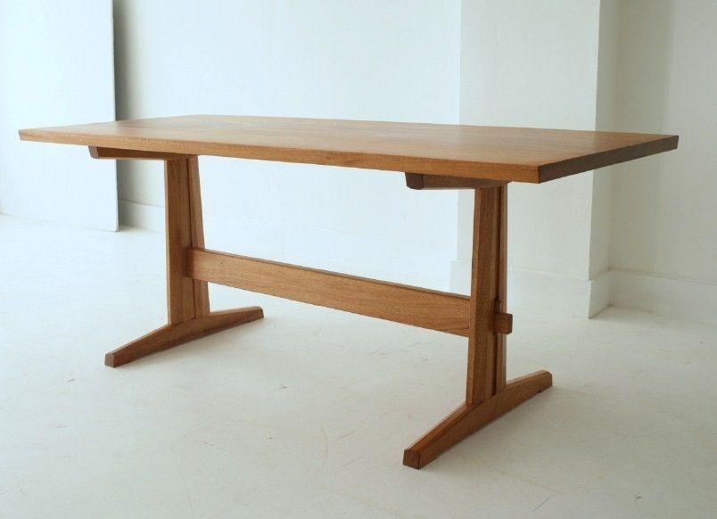 trestle table kitchen island amish breakfast nook set custom made wood