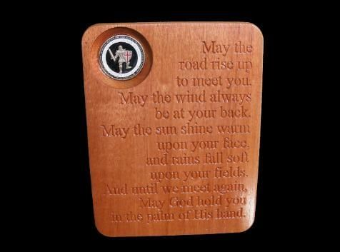Custom Made Irish Blessing Plaque