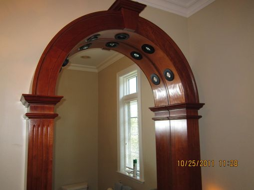 Custom Made Cherry Mirror Surround