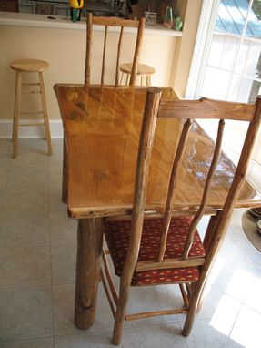Custom Made Kitchen Table And Chairs