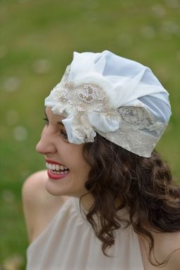 Custom Made Bridal Juliet Cap