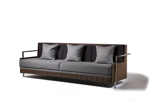 Custom Made Macassar Ebony Couch