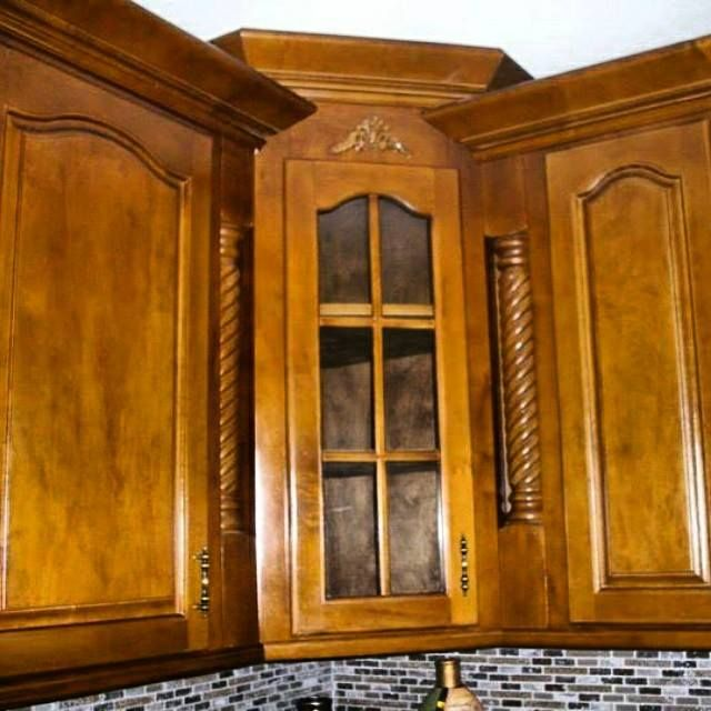 Kitchen Cabinets Made To Order: Buy Hand Crafted Golden Maple Kitchen Cabinets, Made To