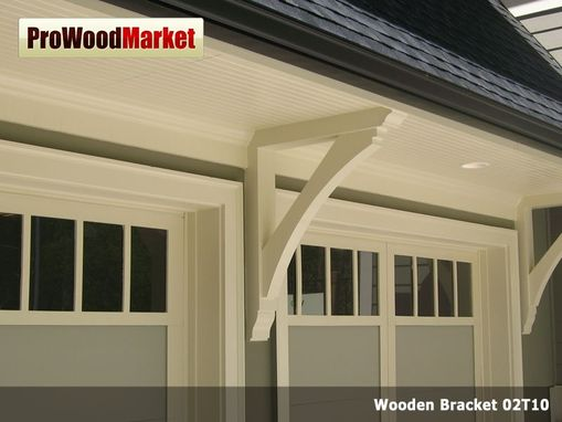 Custom Made Wooden Cedar Bracket 02t10