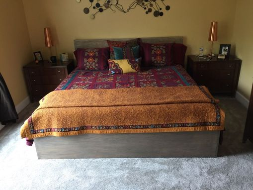 Custom Made No Shake Or Skweek Simple Straight Lines Contemporary Bed