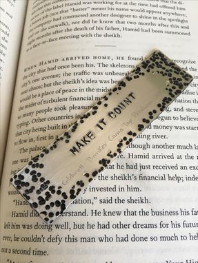 Custom Made Hand Stamped Bookmark