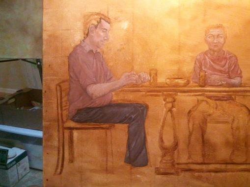 "Custom Made Paintings To Be Used In Movie ""Being Awesome"""