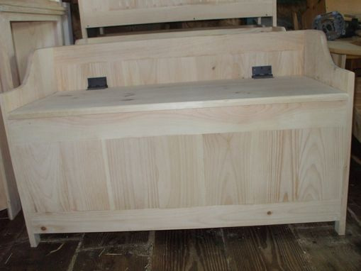 Custom Made Wooden Toy Boxes