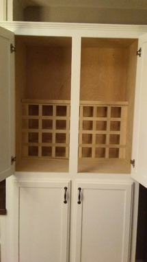 Maple Kitchen Hutch