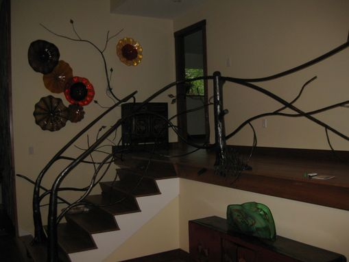 Custom Made Tree Railing