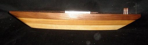 Custom Made Custom Sloop Cribbage Board