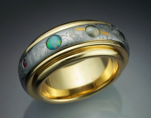 Custom Made The Nine Planets Ring