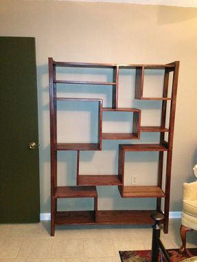 Custom Made Stagger Shelving