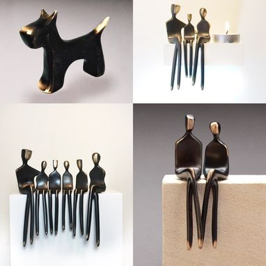 Custom Made Build Your Bronze Sculpture Family