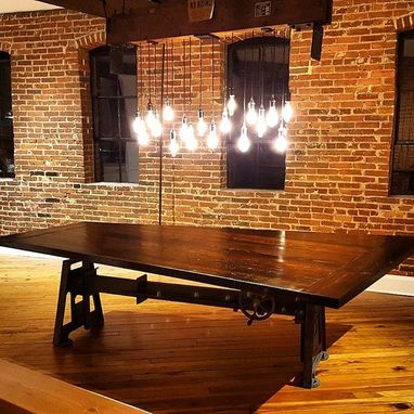 Custom Made Reclaimed Wood Dining And Conference Tables