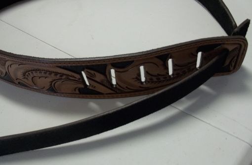 Custom Made #160 Sweet Ice Tea Adjustable Guitar Strap