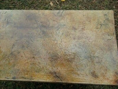 Custom Made Cedar Log Coffee Table With Custom Top