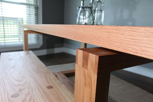 Custom Made The Leading Edge Dining Table