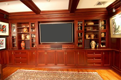 Custom Made Tv Wall Unit