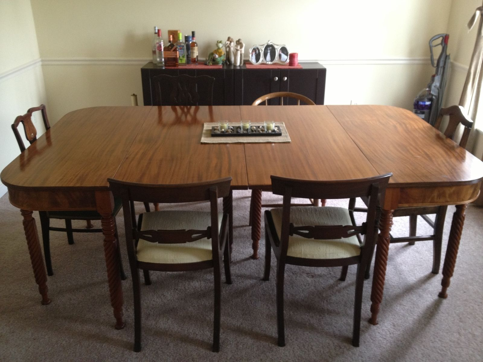 Custom Made 1820 S Style Dining Table By Bailen Furniture