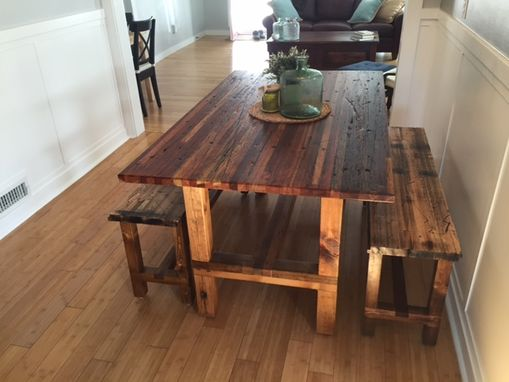 Custom Made Butcher Block Tables
