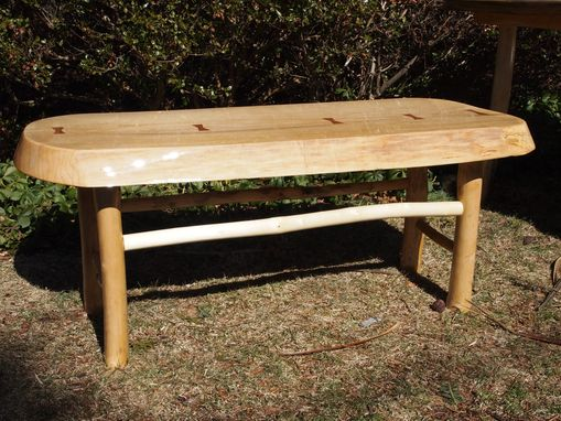 Custom Made Maple Butterfly Key Bench