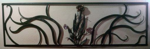 Custom Made Floral Headboard