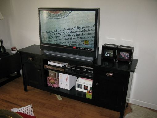 Custom Made Tv Console