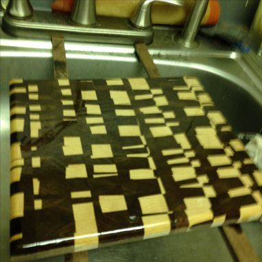 Custom Made Chaotic Cutting Board