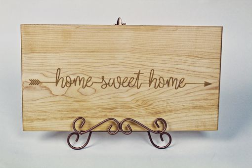 Custom Made Home Sweet Home Custom Engraved Sign