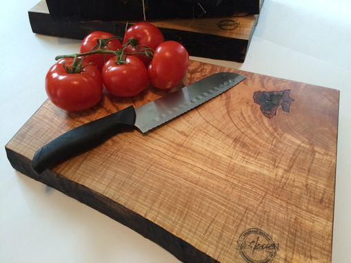 Custom Made Burnt Hard Maple Cutting Boards