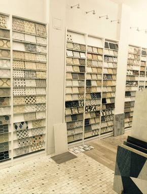 Custom Made Tile Shop Display