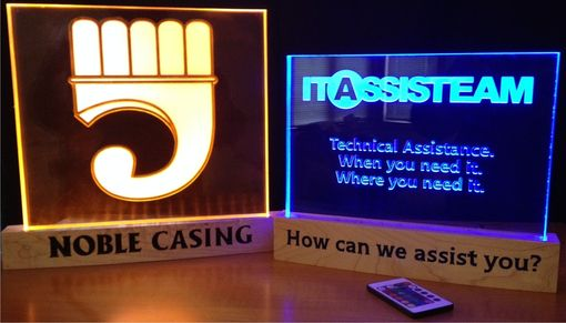 Custom Made Itassisteam Desktop L E D Sign