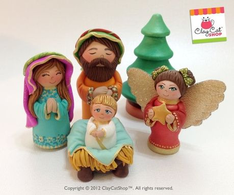 Custom Made One Of A Kind Nativity Sets