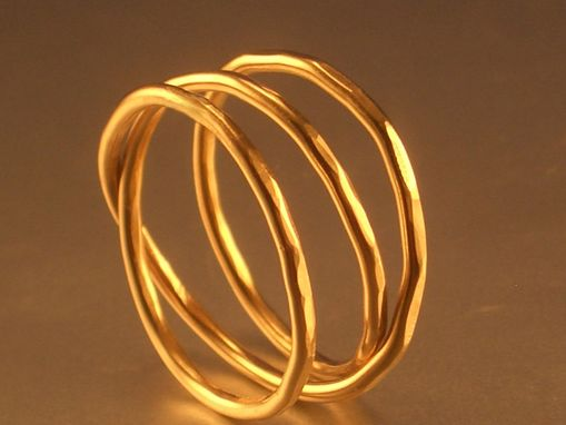 Custom Made 14kt Gold Filled Mobius Ring