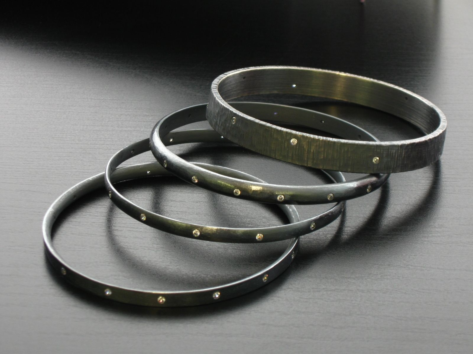 bangle bangles bracelets new black silver stunning bracelet crystal products gethuda women brand unique a accessories l m nialaya fashions jewelry af arrivals condition absolutely