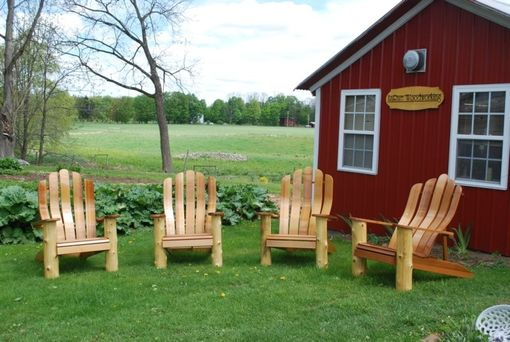 Custom Made Custom Adirondack Style Chairs