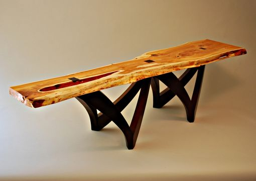 Custom Made Oregon Yew Table Or Bench