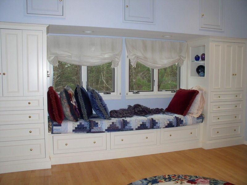 Custom Master Bedroom Window Seat By Michael Weiss Designs