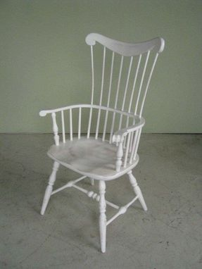 Custom Made White Cottage Style Amelia Dining Chair