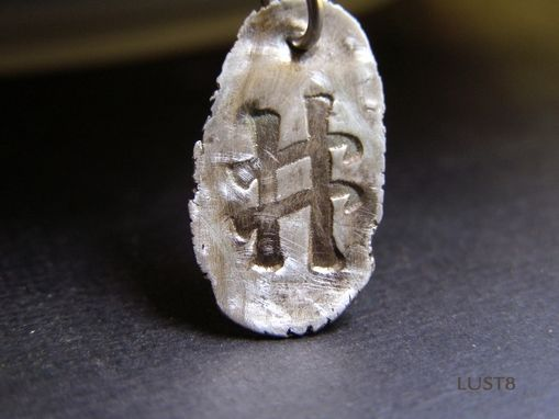 Custom Made Silver Charm Hashtag Necklace