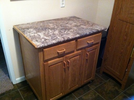 Custom Made Kitchen Island