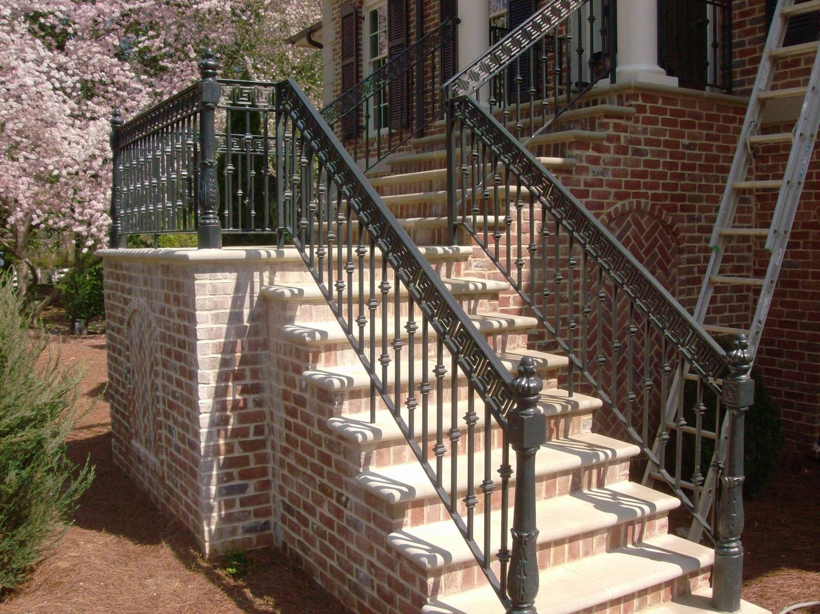 Hand Made Custom Railings By Awesome Iron And Steel