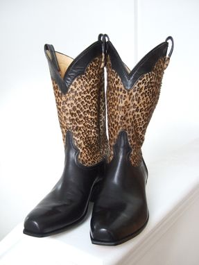 Custom Made Animal Print Cowgirl Boots