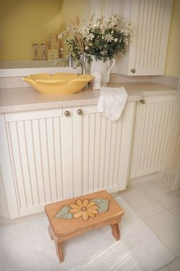 Custom Made Bench, Stool, Stepping Stool