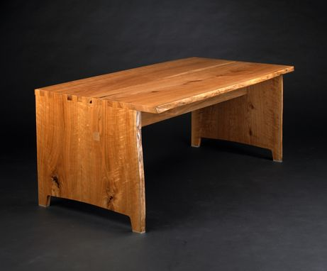 Custom Made Cherry Slab Desk