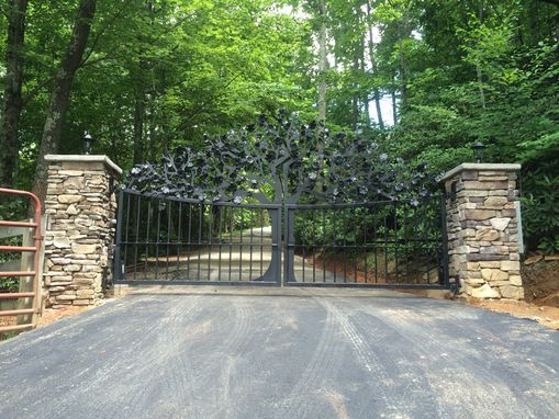 Custom Made Custom Entry Gate For Ole Plantation