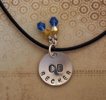 Custom Made Hand Stamped Name Charm